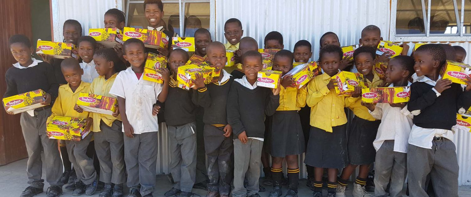 Willowvale Shoe Donation Featured